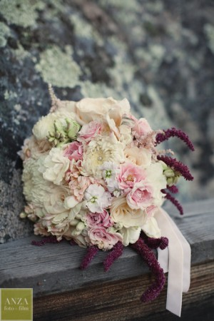 Wedding Flowers by Simply Glamorous Florals at Mt. Woodson Castle