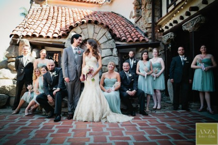 Mt. Woodson Castle Reception Pictures in Romona, California