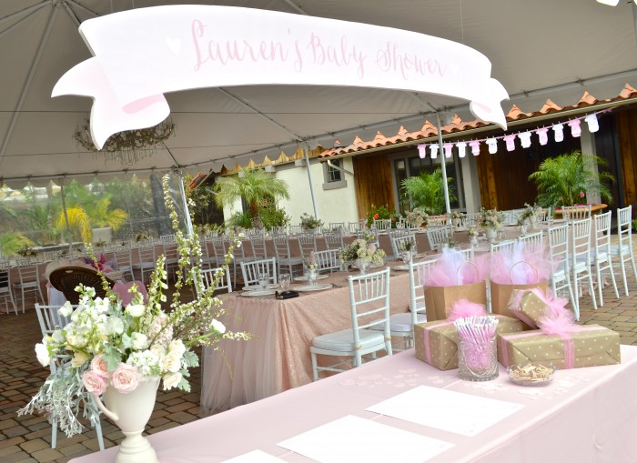 Lauren Nicks Baby Shower Couture Events San Diego Catering